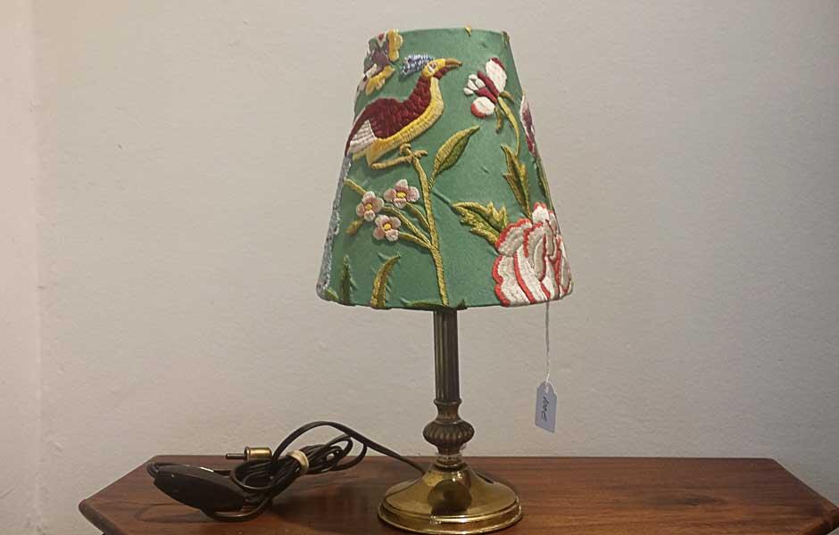 pie de lampara