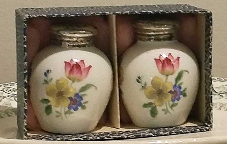 Saleros porcelana alemana