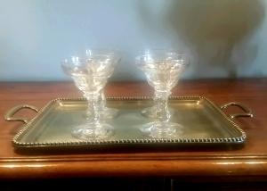 Copas de Champagne años 30