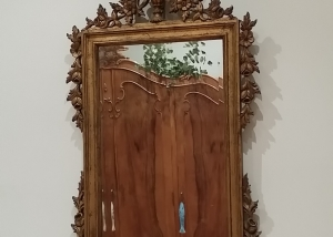 Espejo talla madera
