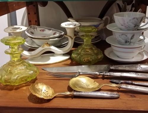 Cubiertos de plata. Francia S.XIX