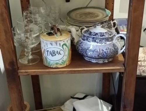 Juego de té Palissy Royal Worcester