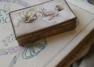 Cajita de cerillas francesa. S.XIX