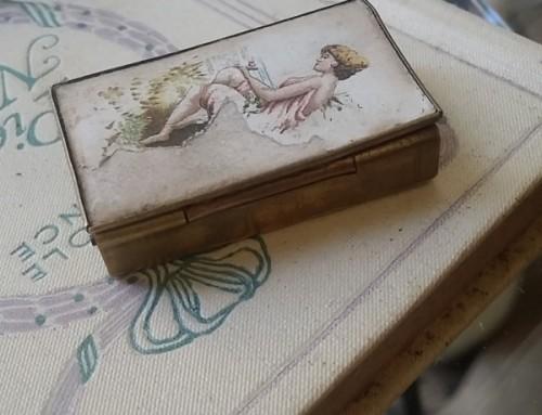 Caja de cerillas S XIX